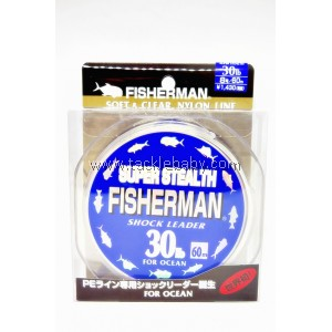 Line  Fisherman Super Stealth Shock Leader 30LB