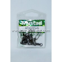 Accessories Mustad SLSnap w BBearing Swivel Sz4.45