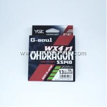 YGK G-Soul OhDragon WX F1 SS140 150m PE0.8 (13LB)