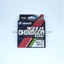 YGK G-Soul OhDragon WX F1 SS140 150m PE1 (16.5LB)