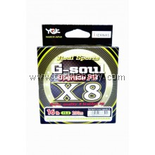 Braided LINE  YGK G-Soul X8 UP Grade 200M PE0.8